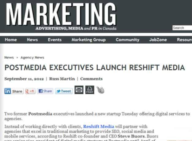 Reshift Media in the News