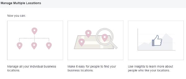 Facebook locations parent child
